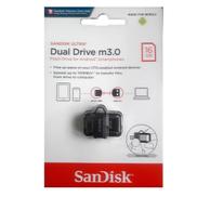 SanDisk 16GB Ultra Dual Drive M3.0 OTG Dual USB Flash Drive
