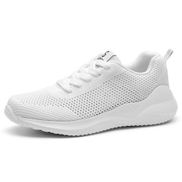 Hollow Sneakers Ladies Athletic Casual Shoes White