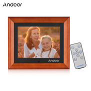 Andoer 8 Inch Large Screen LED Digital Photo Frame Desktop