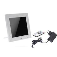 Andoer 8'' HD TFT-LCD Digital Photo Frame Clock MP3 MP4 Movie