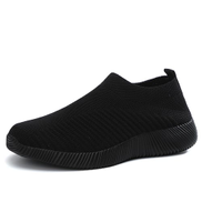 Big Size 43 Casual Mesh Outdoor Sneakers Women Fashion Black