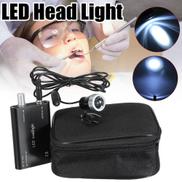 LED Head Light Lamp 3W For Dental Black Surgical Medical Binocular Loupe US Plug