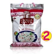 India Gate Basmati Rice Feast Rozana 5kg - 2 Bags