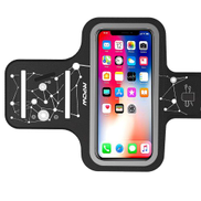 Mpow Sports Running Armband Belt Gym Phone Bag Case Arm Band With Card Key Pockets For IPhone X 8 7 6 6s For Samsung S9 S8
