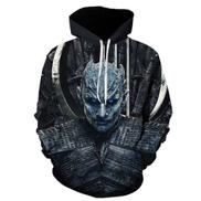 2019 Spring Autumn Game Of Thrones Cosplay Costume Hoodies Sweatshirts Loose Fit Casual Men Coat Brand-Clothing 3d Jacket