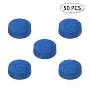 50 PCS Pool Cue Tips Billiard Cue Head 9MM 10MM 12MM