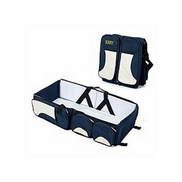 All Purpose Baby Diaper Bed & Bag + Various Compartment