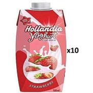 Hollandia YOGHURT Drink- Plain Sweetened 500mlX 10PCS