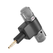 External Stereo Mic Microphone With 3.5Mm To Mini Usb Micro