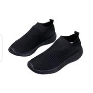 Unisex Breathable Sport Sneakers - Black