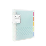 Loose-leaf Notebook Rainbow Cookie Daily Plan Personal Diary Notebook, Size:A5Blue