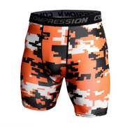 Summer Joggers Shorts Men Gyms Compression Short Pants Dry