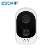 Escam NEW ESCAM QF230 HD 1080P WiFi IP Camera With Battery Two Way Talk Ultra Clear Night Time Image CCTV Camera Support PIR 64GB CUI