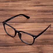 Acetate Eyeglasses Frame Clear Lens Optical Glasses Leopard Vintage Prescription Glasses Eyewear Spectacle Frames Women Men