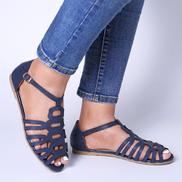 Lostisy Women Casual Hollow Lightweight Buckle Sandals