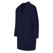 INCERUN Men Long Suit Jacket Coat Long Sleeve Outwear Solid Trench Parkas