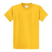 High Quality Plain Round Neck T-shirt - Yellow