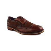 Christopher's Suede and Leather Shoe - Brown