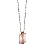 Fred Bennett N4279 Mens Stainless Steel Necklace